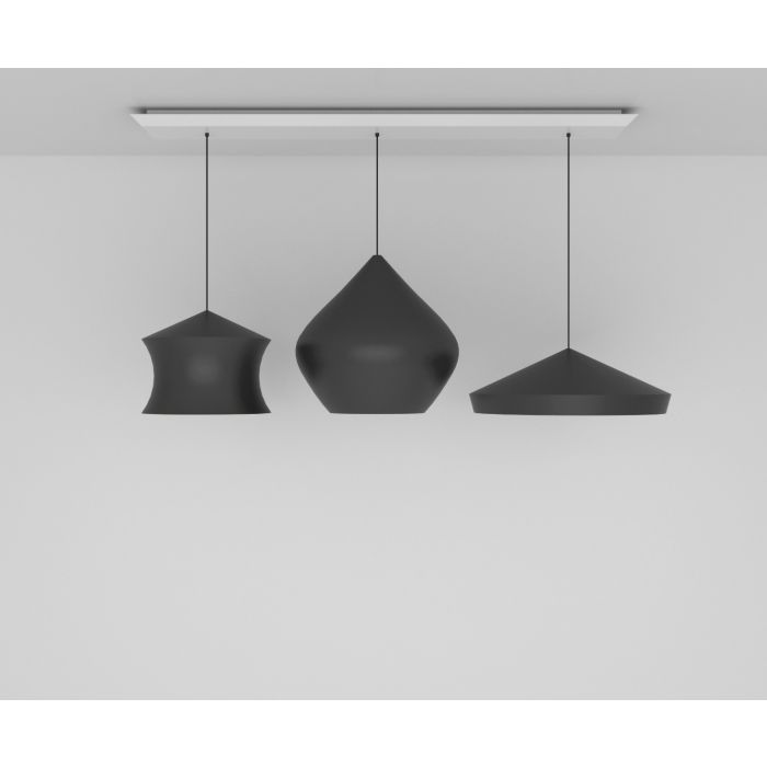 Beat Black Trio Linear Pendant System