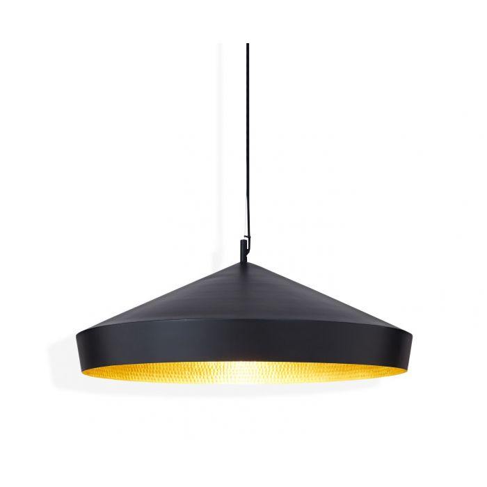 Beat Flat Pendant Black