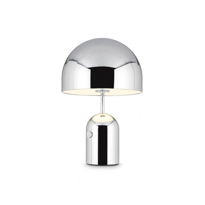 Bell Table Light Chrome Large