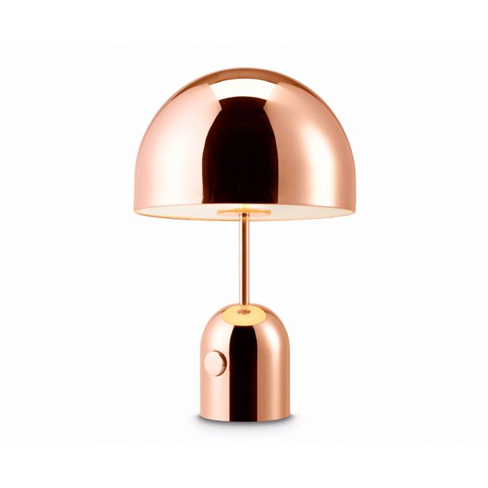 Bell Table Light Copper