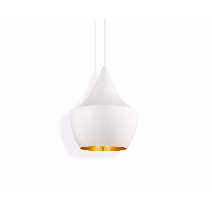 Beat Fat Pendant White