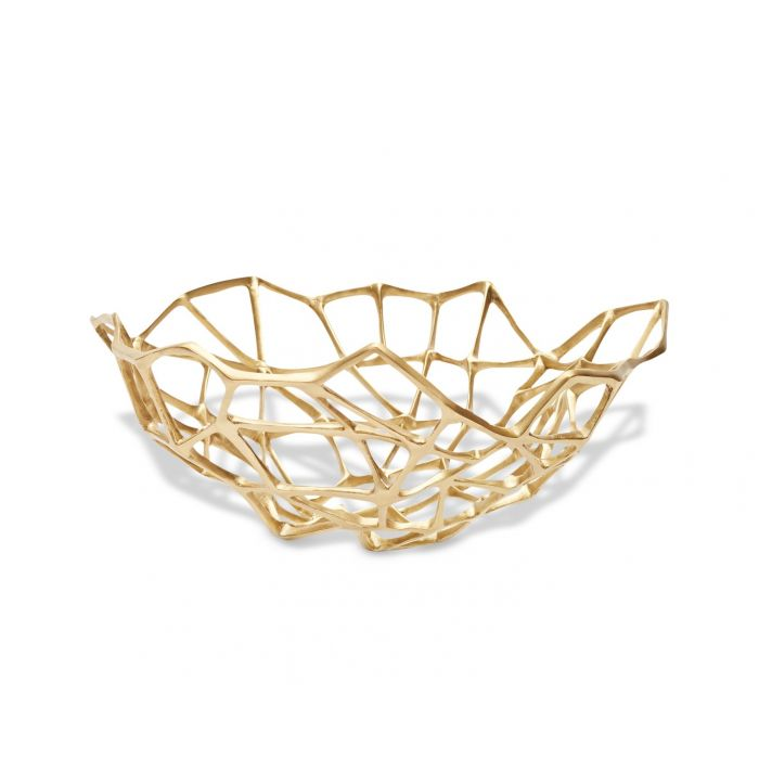 Bone Bowl Extra Large Brass