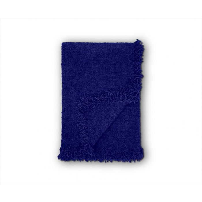 HACK Boucle Throw Electric Blue 350x200cm