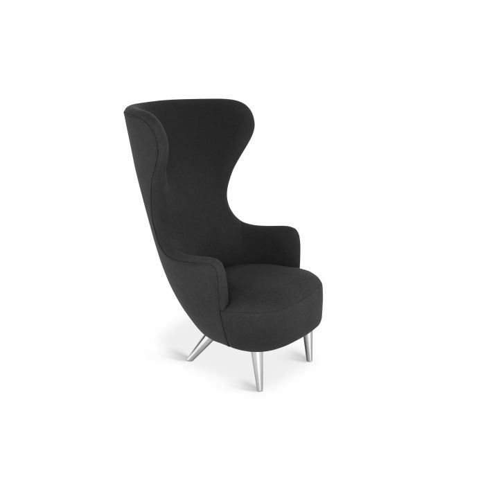 Wingback Chair Chrome Leg Hallingdal 65