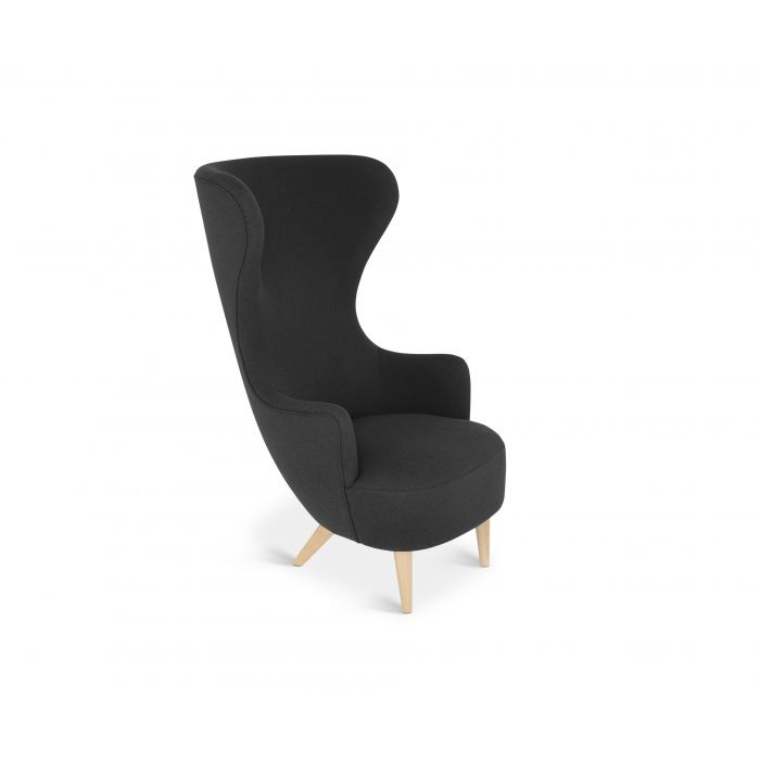 Wingback Chair Natural Leg Hallingdal 65