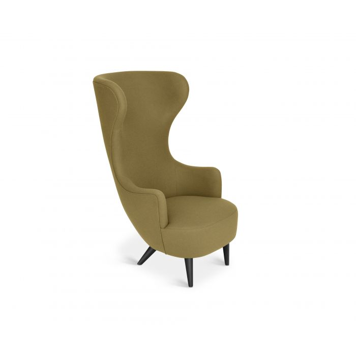 Wingback Chair Black Leg Hero