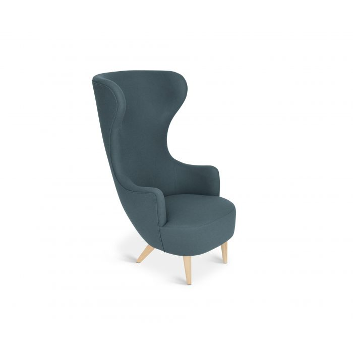 Wingback Chair Natural Leg Hero