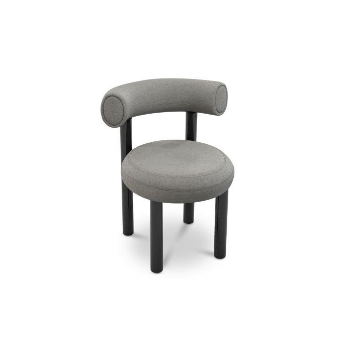 Fat Dining Chair Micro Boucle 0404