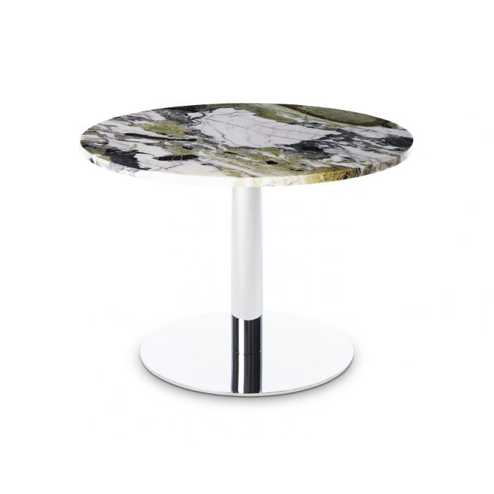 Flash Table Circle Chrome