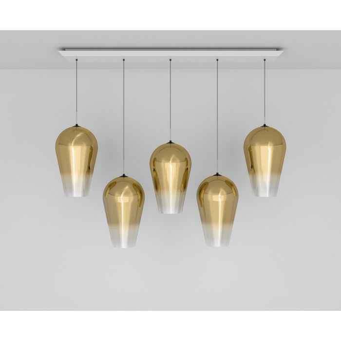Fade Gold Linear Pendant System