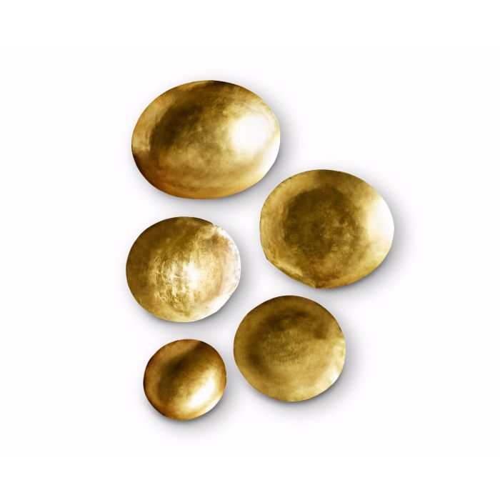 Form Bowl Large Set Brass