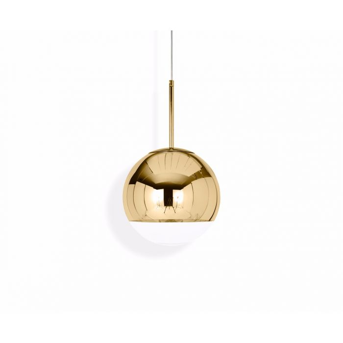 Pendelleuchte Mirror Ball Gold 25cm