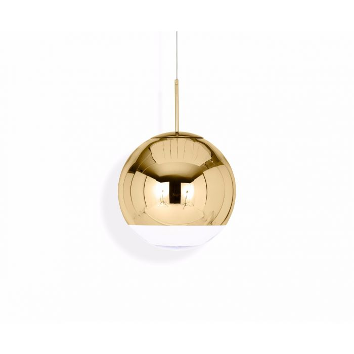 Mirror Ball Pendant Gold 40cm