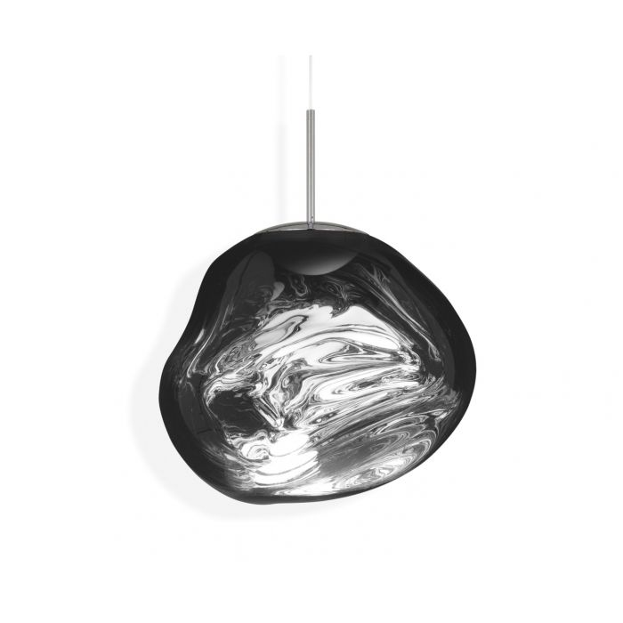 Melt Pendant Chrome LED