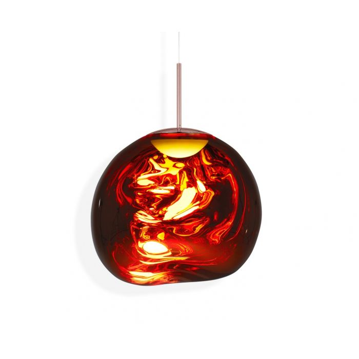Melt LED Pendant Copper