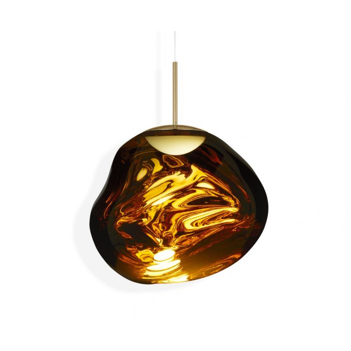 Melt LED Pendant Gold