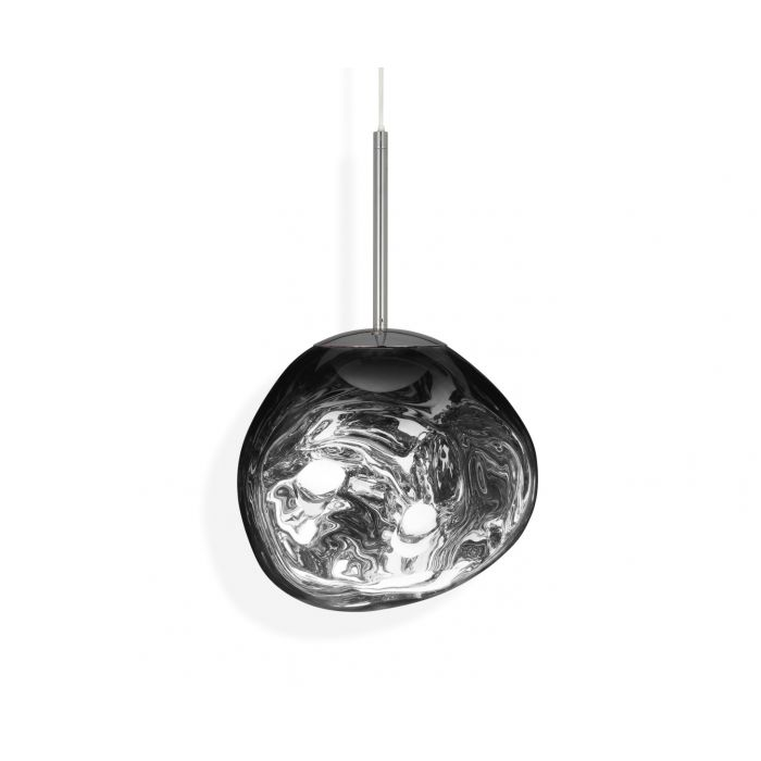 Melt Mini LED Pendant Chrome