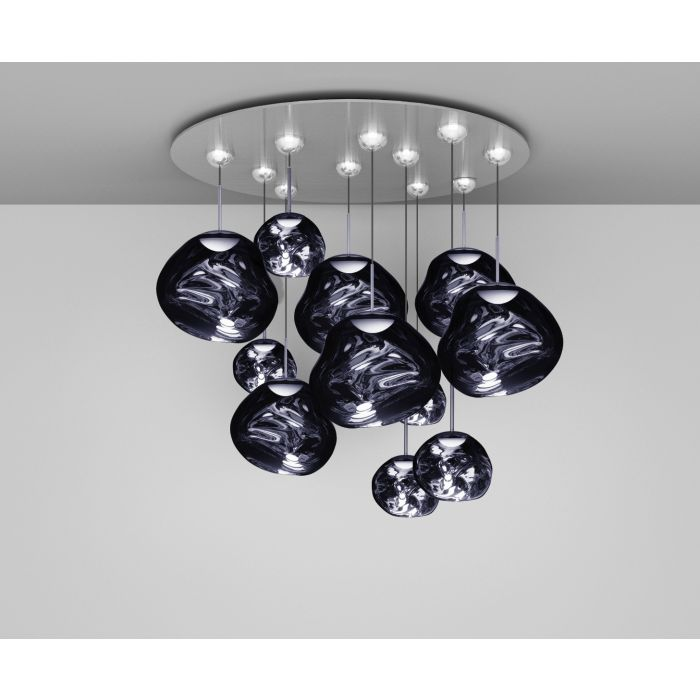 Melt LED Smoke Mega Pendant System