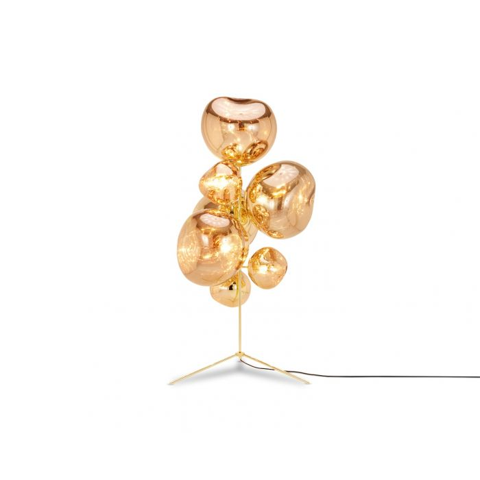 Melt Stand Chandelier Gold