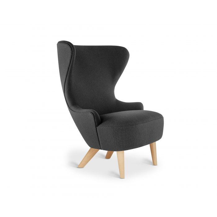 Micro Wingback Chair Natural Leg Hallingdal 65