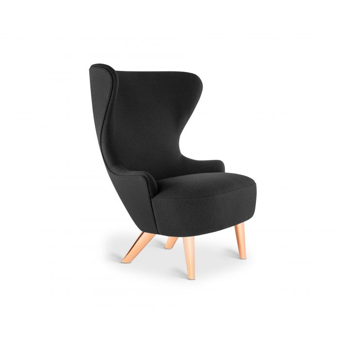 Micro Wingback Chair Copper Leg Hallingdal 65