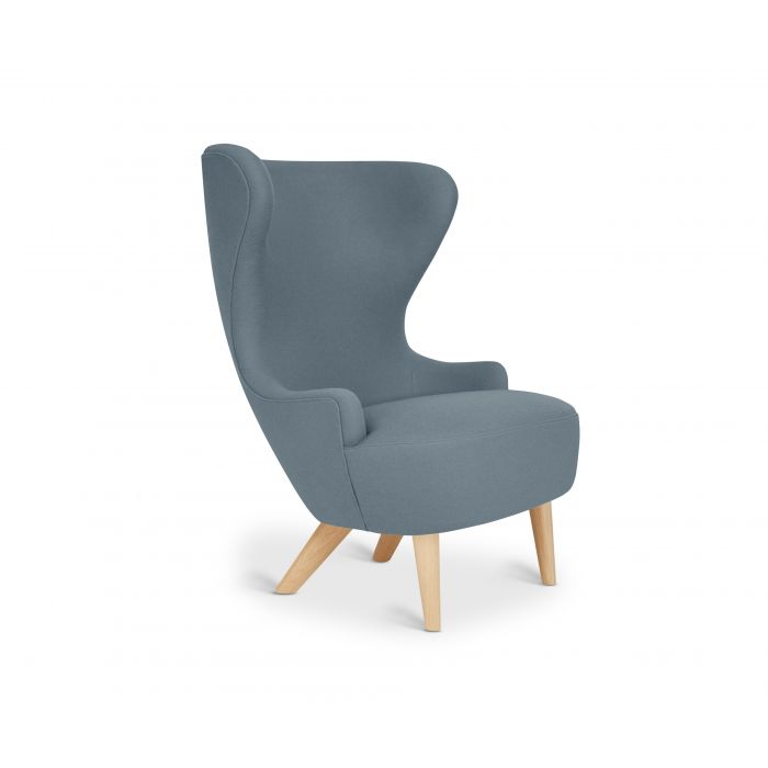 Micro Wingback Chair Natural Leg Hero