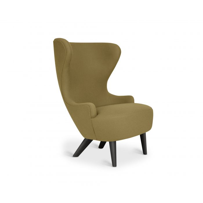 Micro Wingback Chair Black Leg Hero