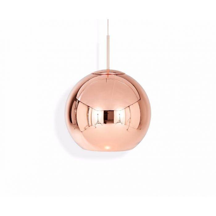 Suspension 45cm Copper Round