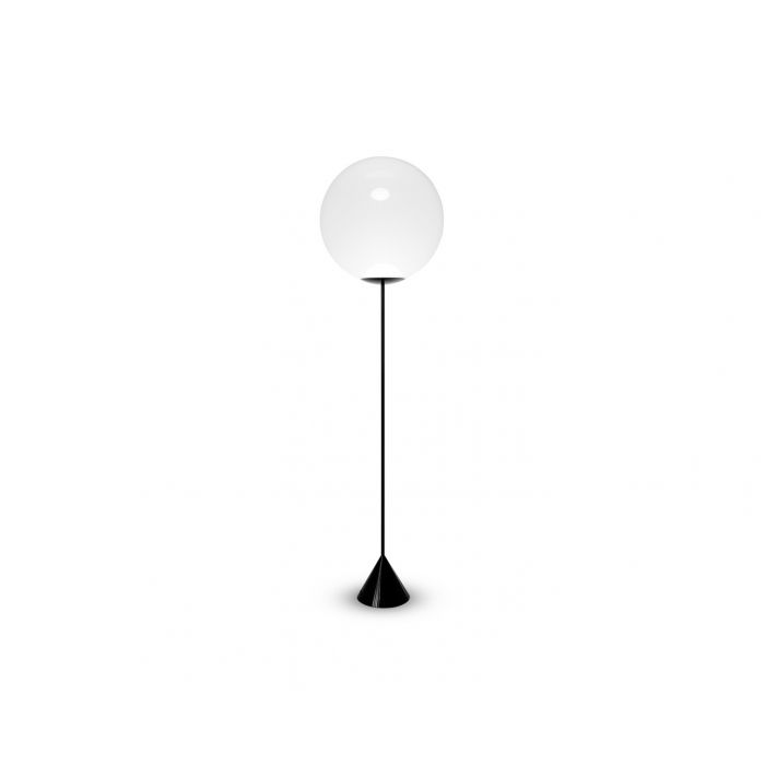 Opal Cone Floor Light