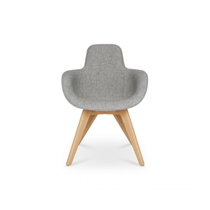 Scoop Chair High Back Natural Leg Hallingdal 65