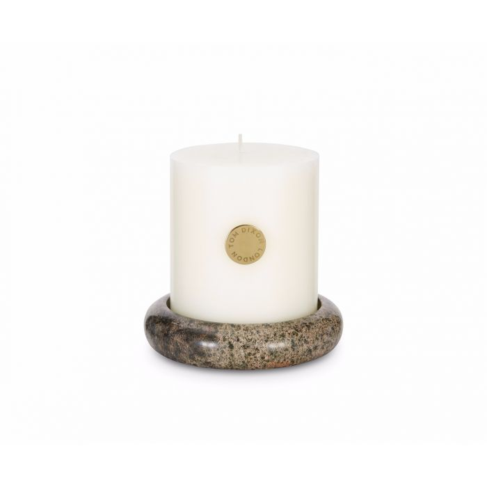 Materialism Stone Pillar Candle