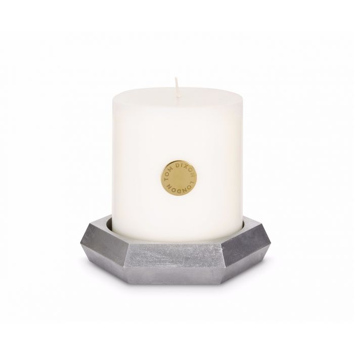 Materialism Alloy Pillar Candle