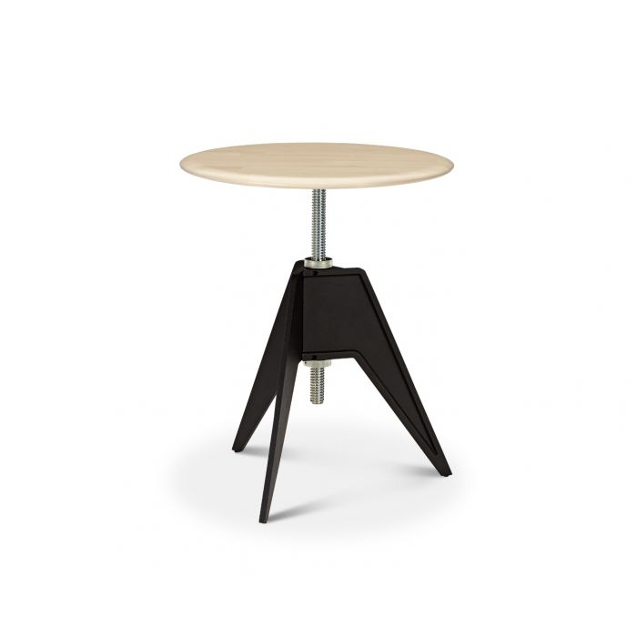 Screw Cafe Table Natural Birch