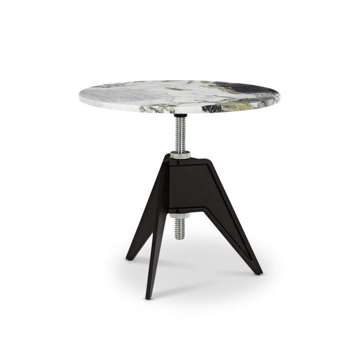 Screw Side Table Primavera Top 600mm