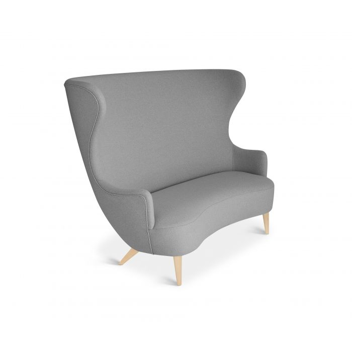 Wingback Sofa Natural Leg Hallingdal 65