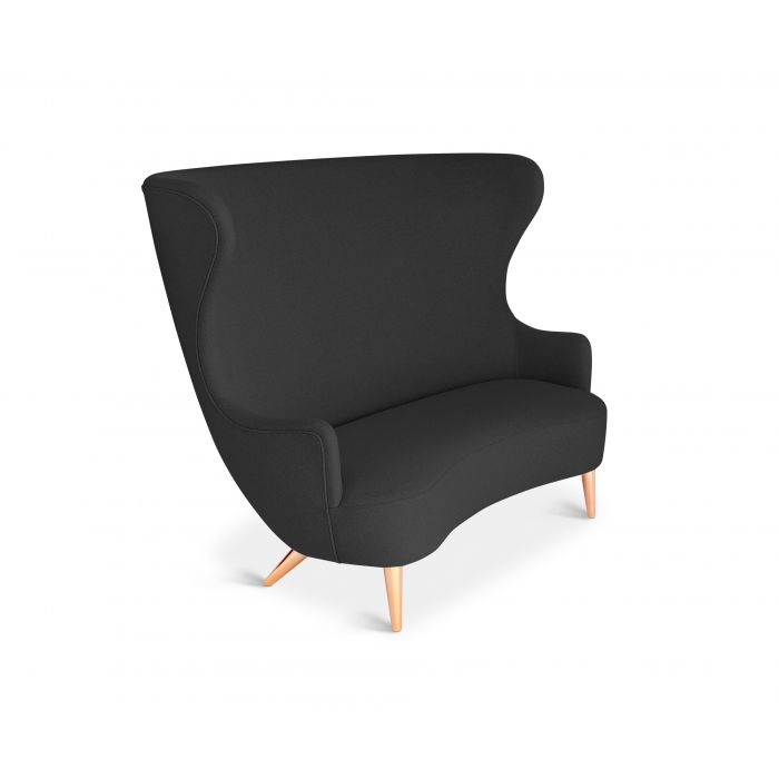 Wingback Sofa Copper Leg Hallingdal 65
