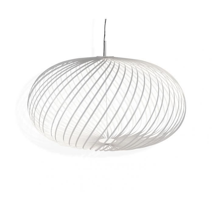 Lampe à suspension Spring blanche grande taille