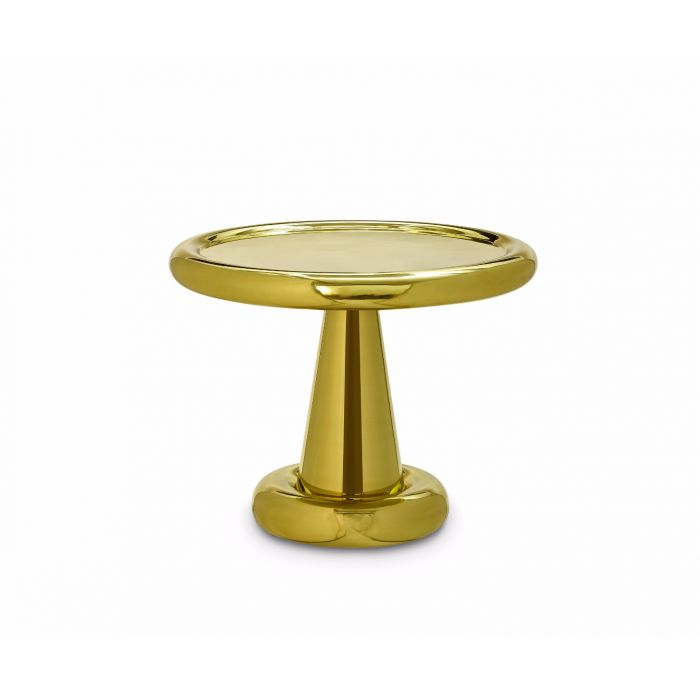 Spun Table Short Brass