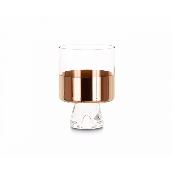 Tank Low Ball Glasses Copper x2