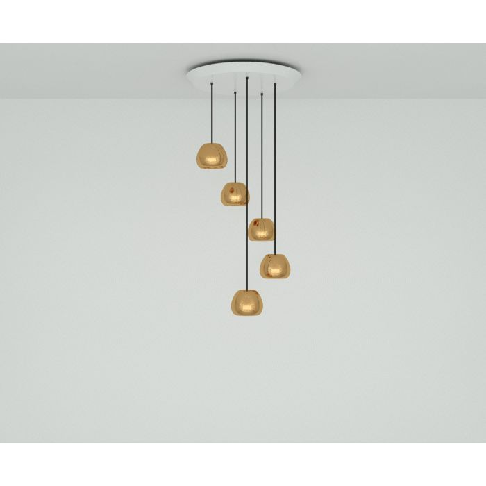 Void Mini Copper Round Pendant System