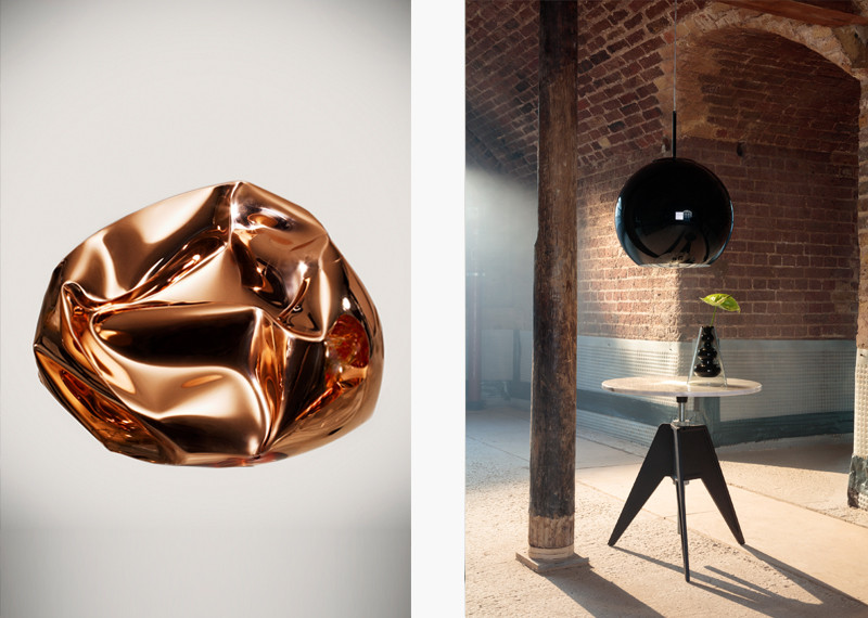Tom Dixon Copper Ceiling Light