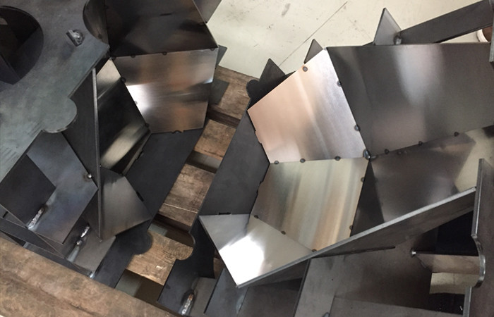 Tom Dixon Cut Ceiling Light Process