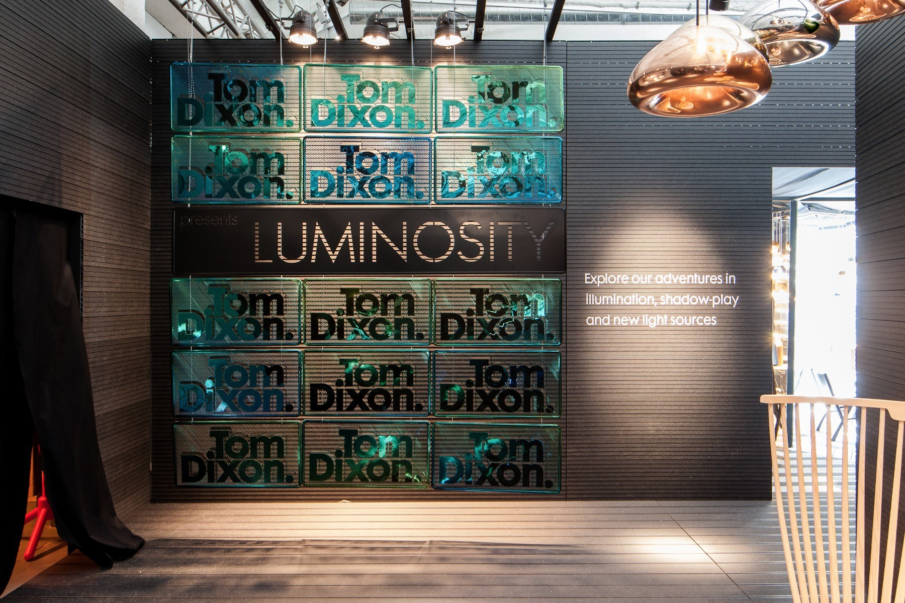Tom Dixon Luminosity at MOST Milan 2012