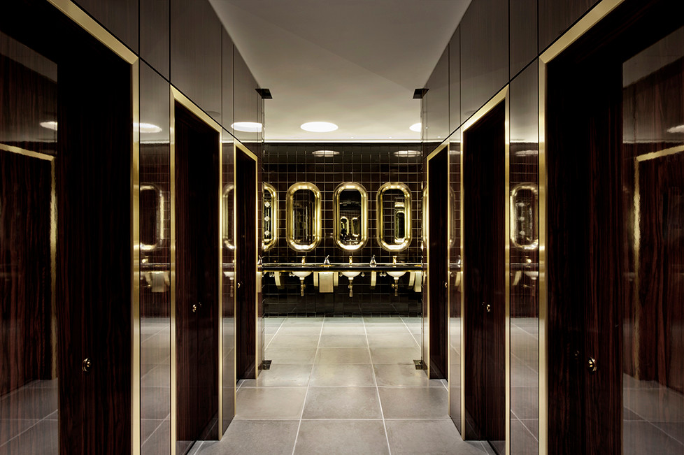 Mondrian Hotel in the Sea Containers Building, London