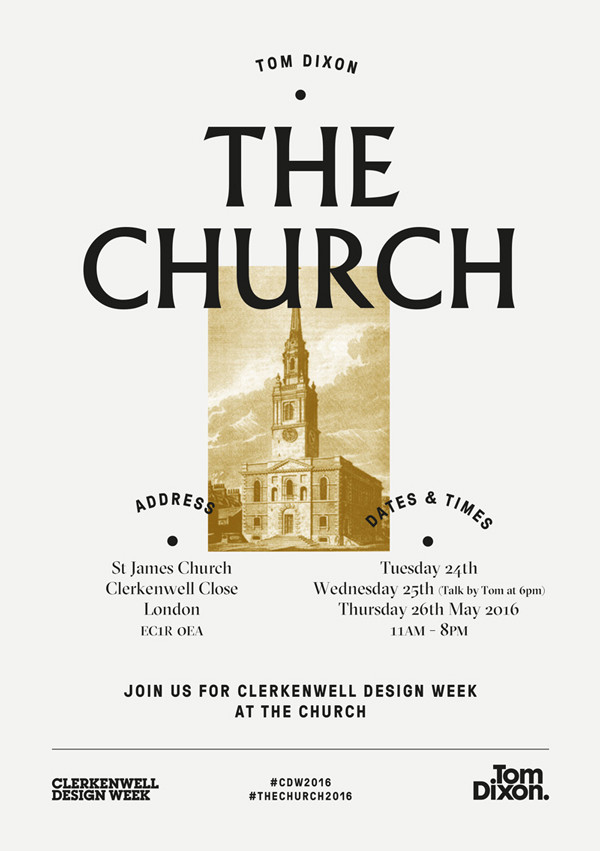 The Church 2016 Clerkenwell Design Week