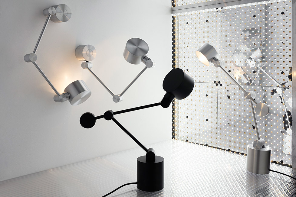 A functional, practical and beautifully engineered task light.