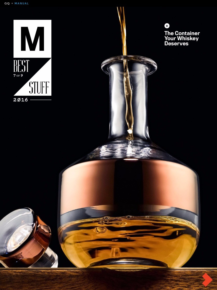 Tank Whiskey in GQ