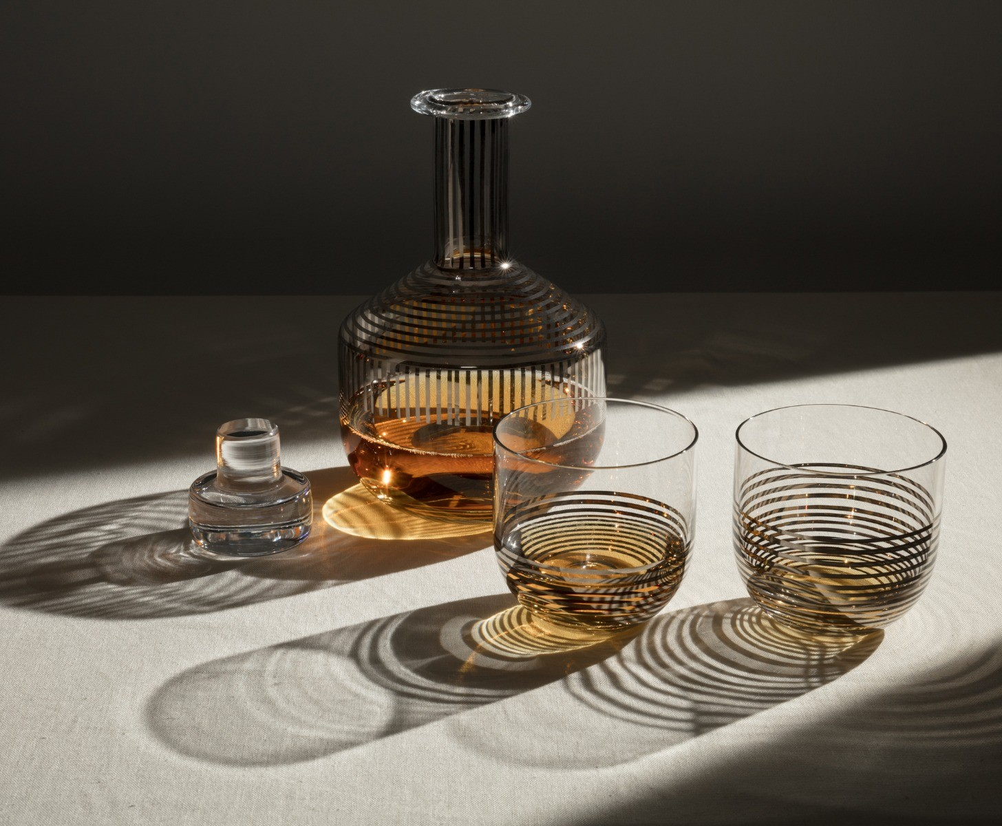 Tank Whiskey Set Platinum