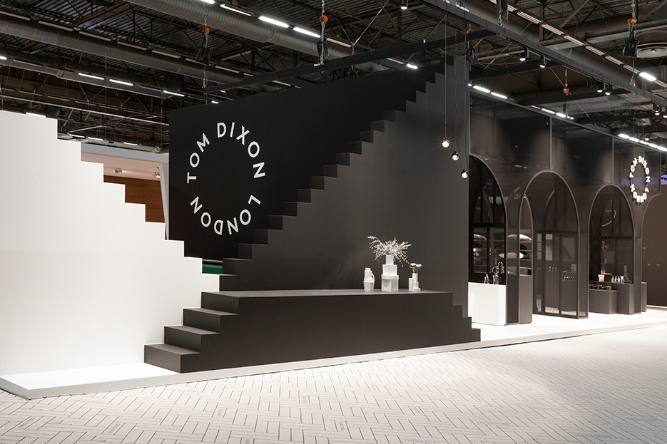 Tom Dixon stepped display at Maison Objet 2019