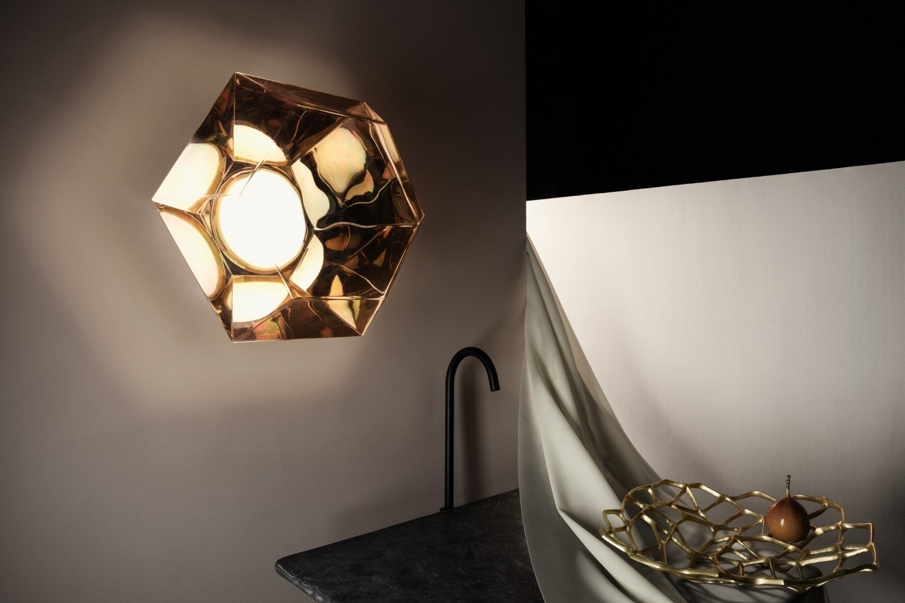 Showing Gallery of Bathroom Chandelier Wall Lights (View 16